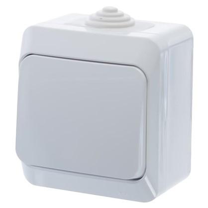 Выключатель Schneider Electric Этюд 1 клавиша цвет белый IР44