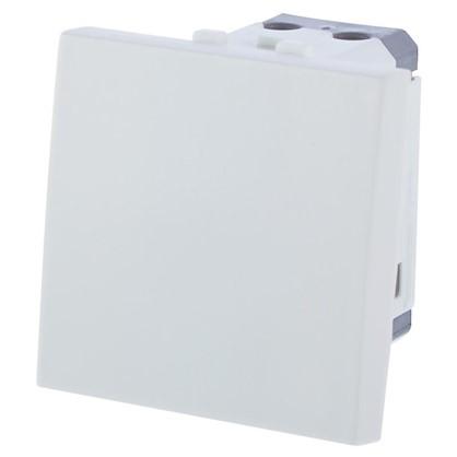 Выключатель Studio LK45 1 клавиша одномодульный для розетки цвет белый
