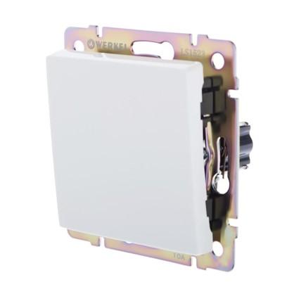 Выключатель Werkel 1 клавиша цвет белый
