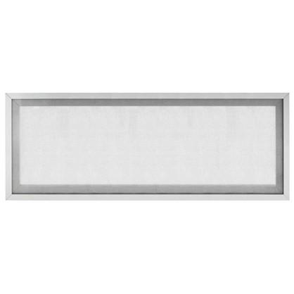 Витрина для шкафа Гауз 80x35 см алюминий/стекло цвет бежевый