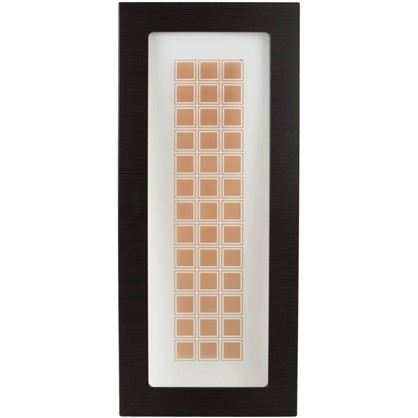 Витрина для шкафа Шоколад 40х92 см цвет шоколад