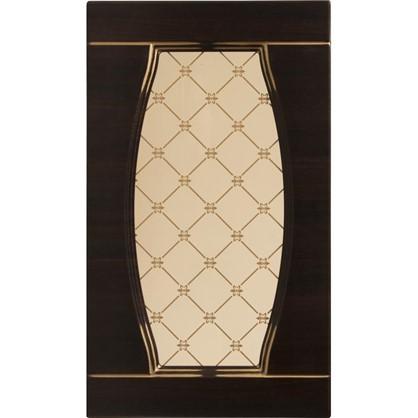 Витрина для шкафа Византия 60х35 см цвет темно-коричневый