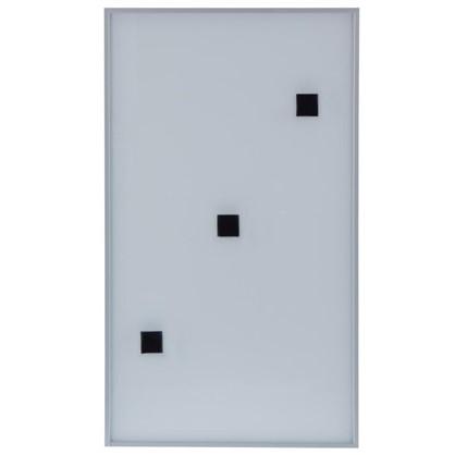 Витрина Магнетик магнитная 60х35 см алюминий/стекло цвет серебро