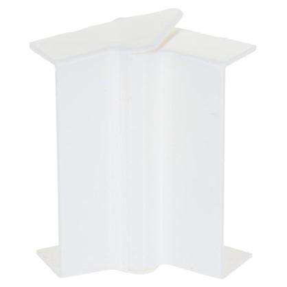 Внутренний угол изменяемый 74х20 мм цвет белый 2 шт.