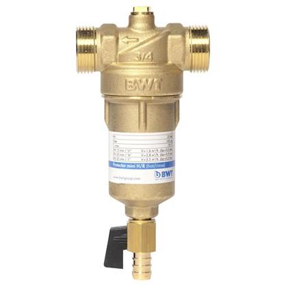 Водоочиститель BWT Protector Mini 3/4 дюйма для горячей воды 100 мкм