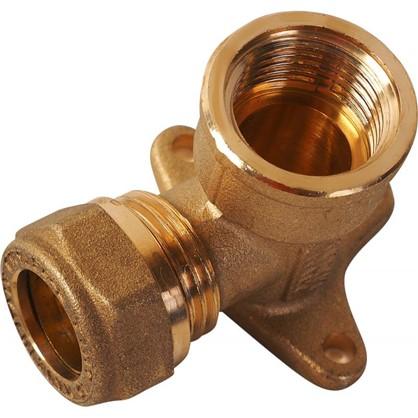 Водорозетка обжимная Tiemme внутренняя резьба 15х1/2 мм медь