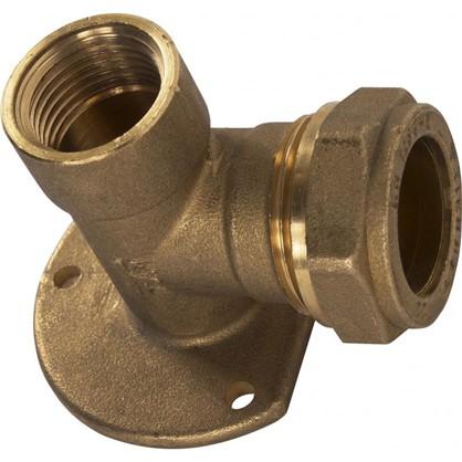 Водорозетка обжимная Tiemme внутренняя резьба 22х1/2 мм медь