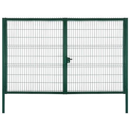 Ворота RAL 6005 Medium 2.03х3 м цвет зелёный