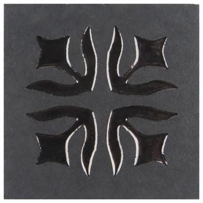 Вставка Лимож 6х6 см цвет черный