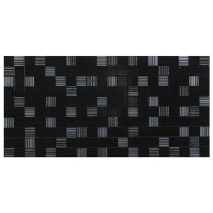 Вставка Пиксел 25х50 см цвет черный