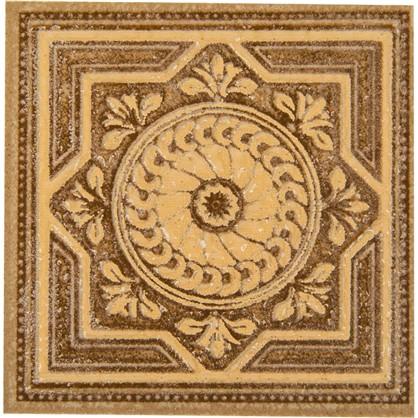 Вставка Византия 7х7 см цвет бежевый