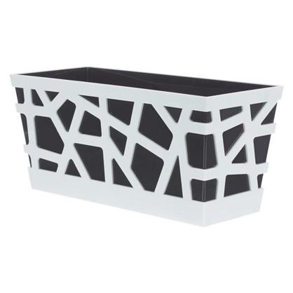 Ящик балконный Мозаика цвет антрацит