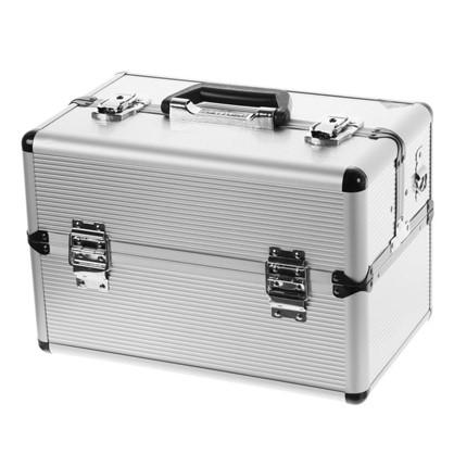 Ящик для инструмента Dexter 365х225х250 мм алюминий/ДВП цвет серебро