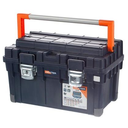 Ящик для инструмента Dexter 595х355х345 мм пластик цвет синий
