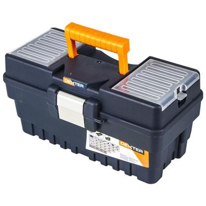 Ящик для инструмента Dexter Formula A Alu300 374х189х198 мм пластик цвет синий