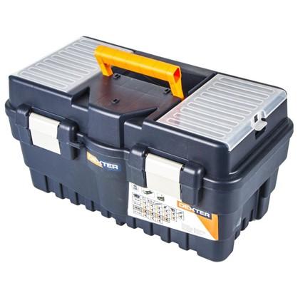 Ящик для инструмента Dexter Formula A Alu500 462х242х256 мм пластик цвет синий