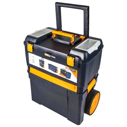 Ящик для инструментов Dexter на колесиках 45х28х62 см