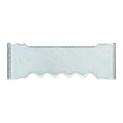 Зацеп зубчатый для рамки забивной малый 25 мм оцинкованная сталь