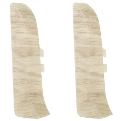 Заглушка для плинтуса левая и правая Artens Ареццо 65 мм 2 шт.