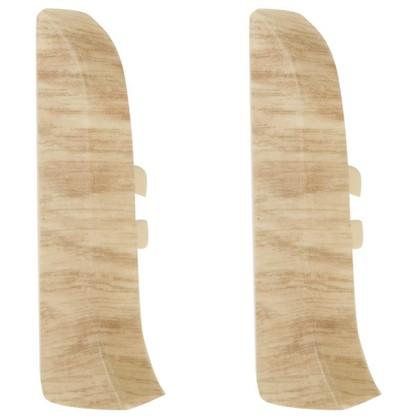 Заглушка для плинтуса левая и правая Artens Ливорно 65 мм 2 шт.