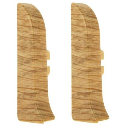 Заглушка для плинтуса левая и правая Artens Мачерата 65 мм 2 шт.