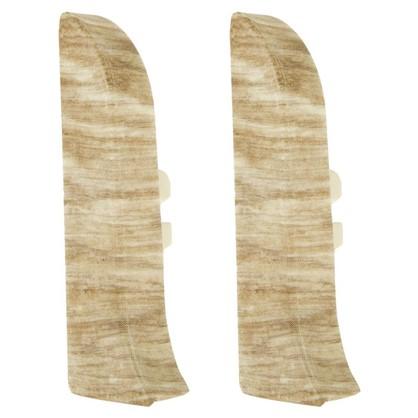 Заглушка для плинтуса левая и правая Artens Перуджа 65 мм 2 шт.