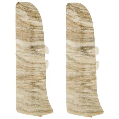 Заглушка для плинтуса левая и правая Artens Равенна 65 мм 2 шт.