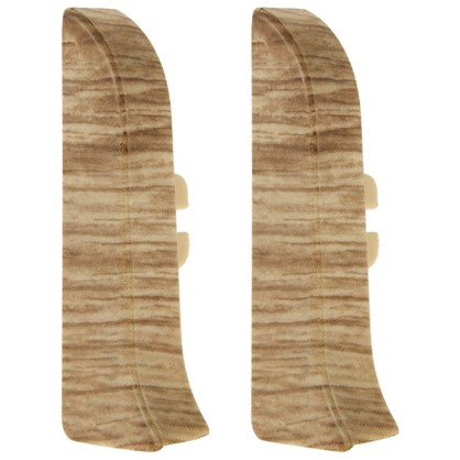 Заглушка для плинтуса левая и правая Прато 58 мм 2 шт.