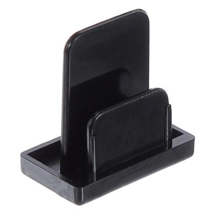 Заглушка на шину цвет черный
