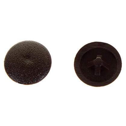 Заглушка на шуруп PZ 2 12 мм полиэтилен цвет коричневый 50 шт.