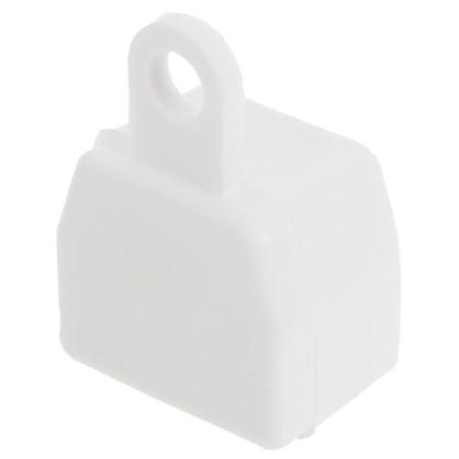 Заглушка U-шины цвет белый 2 шт.