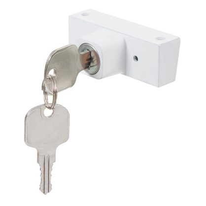 Замок-блокиратор с цилиндром 2 ключа