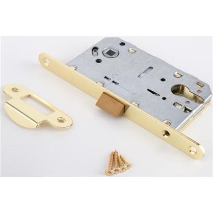 Защелка под цилиндр EDS-50-85 KEY с ключом пластик цвет золото