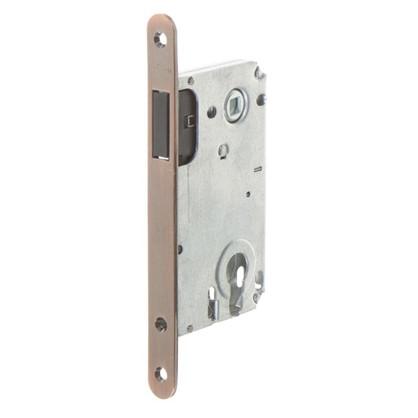 Защелка под цилиндр магнитный EDS-50-85 KEY с ключом цвет медь