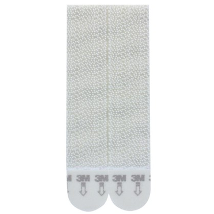Застежки для картин Command большие пластик цвет белый 4 пары