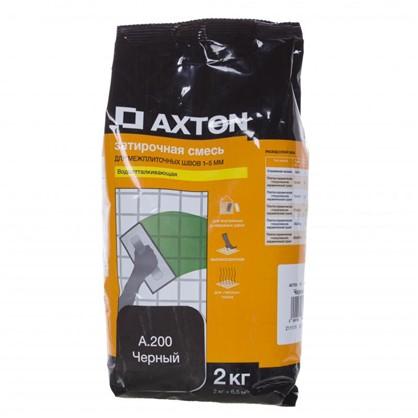 Цементная затирка Axton А.200 2 кг цвет черный