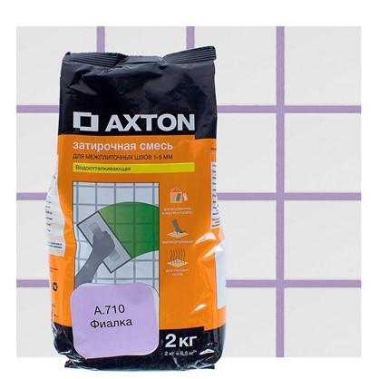 Цементная затирка Axton А.710 2 кг цвет фиалка