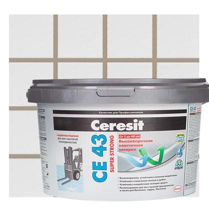 Цементная затирка Ceresit CE 43/2 водоотталкивающая цвет багамы