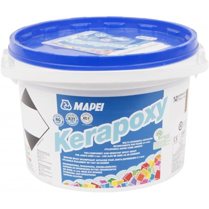 Эпоксидная затирка Kerapoxy 141 цвет карамельный 2 кг