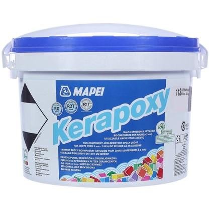 Эпоксидная затирка Kerapoxy N.113 цвет тёмно-серый 2 кг