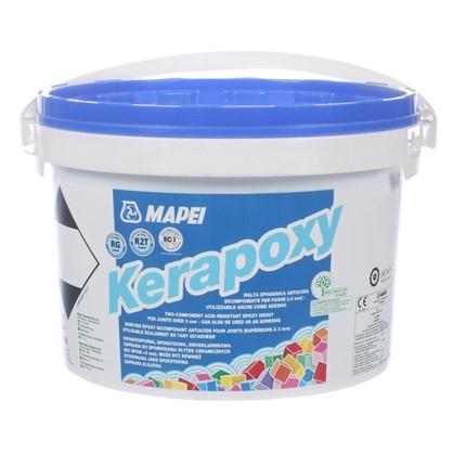 Эпоксидная затирка Kerapoxy N.120 цвет чёрный 2 кг
