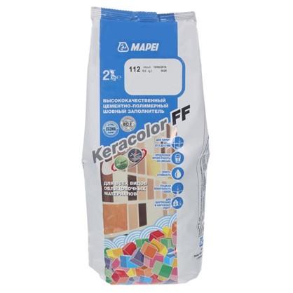 Затирка Keracolor FF цвет серый 2 кг