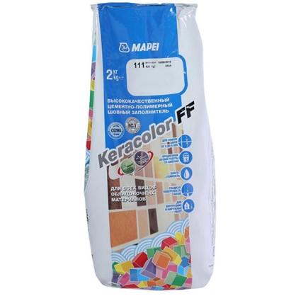 Затирка Keracolor FF цвет светло-серый 2 кг