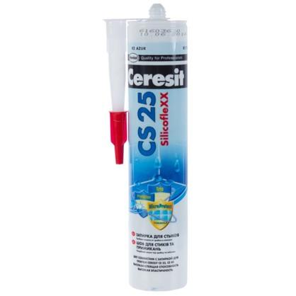 Силиконовая затирка Ceresit CS 25 цвет голубой