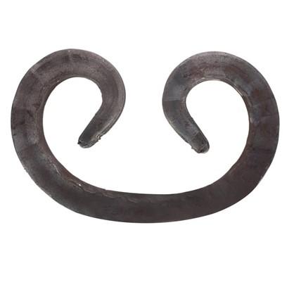Завиток кованый 12х87х125 мм сталь