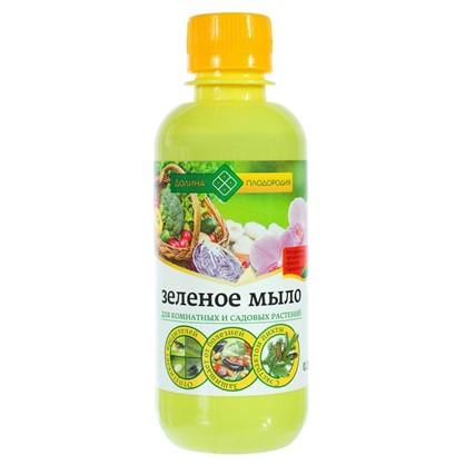 Зелёное мыло для комнатных и садовых растений Долина плодородия с экстрактом пихты 0.25 л