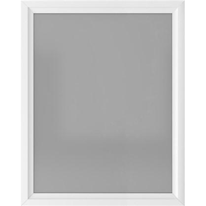 Зеркало 80х100 см цвет белый матовый