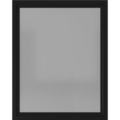 Зеркало 80х100 см цвет чёрный матовый