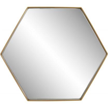Зеркало Ferro 25х21 см цвет золотой
