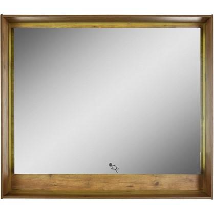 Зеркало с подсветкой Мокка 100 см цвет дуб